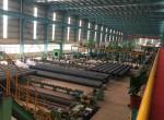 墨西哥的客户来访我们的焊接钢管工厂