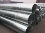全国多家中大型热镀锌螺旋钢管厂家的经营状况有所改善