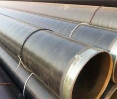 Q235B增强型3PE防腐地埋螺旋钢管