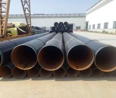 自来水输送3PE防腐螺旋钢管