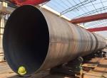 大口径钢管的冷却形式