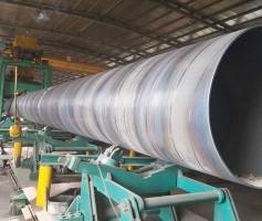 水净化用螺旋钢管产品介绍