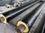 钢套钢岩棉保温钢管实体厂家
