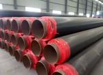 塑套钢聚氨酯保温管含税价格