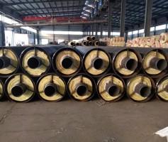钢套钢蒸汽直埋保温钢管