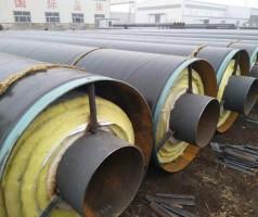蒸汽钢套钢预制直埋保温管