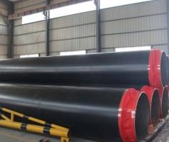 高密度聚乙烯硬质聚氨酯预制直埋保温管