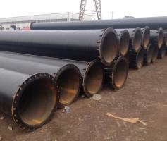 法兰焊接螺旋钢管