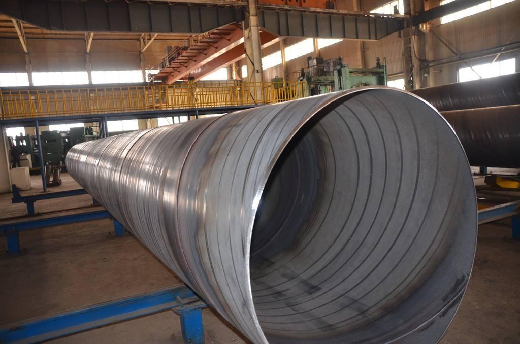 螺旋钢管常见的焊接缺陷