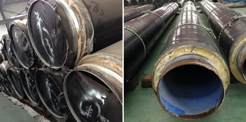 HDPE保温钢管包装与运输