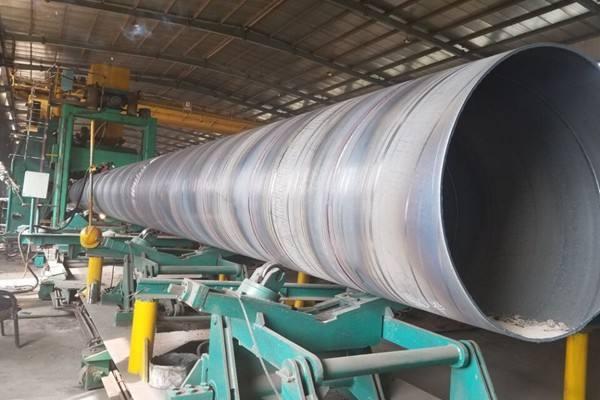 水净化用螺旋钢管生产供应商