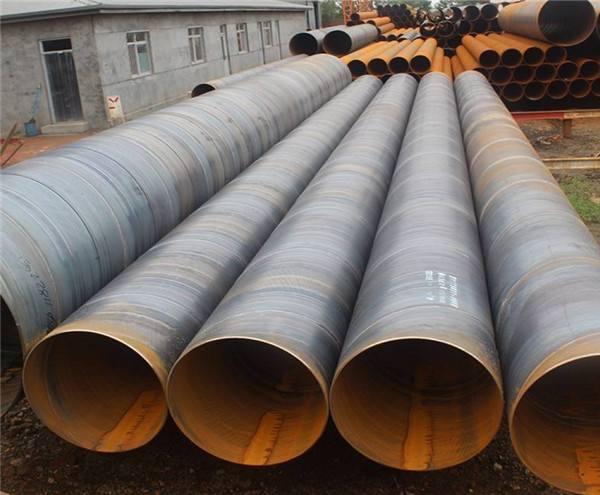 电厂化工企业用螺旋钢管实体厂家