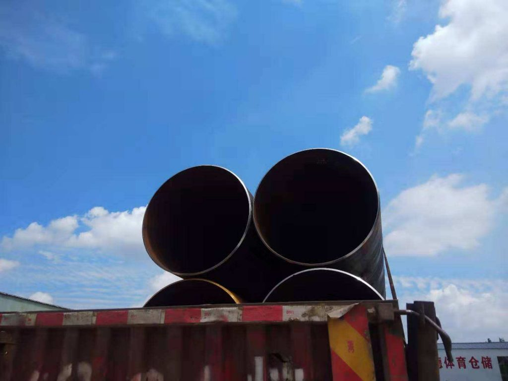 输送可燃性流体用螺旋钢管