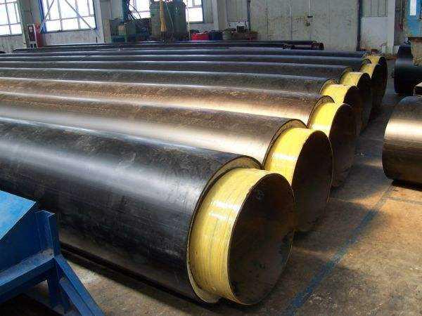 聚氨酯铁皮保温钢管