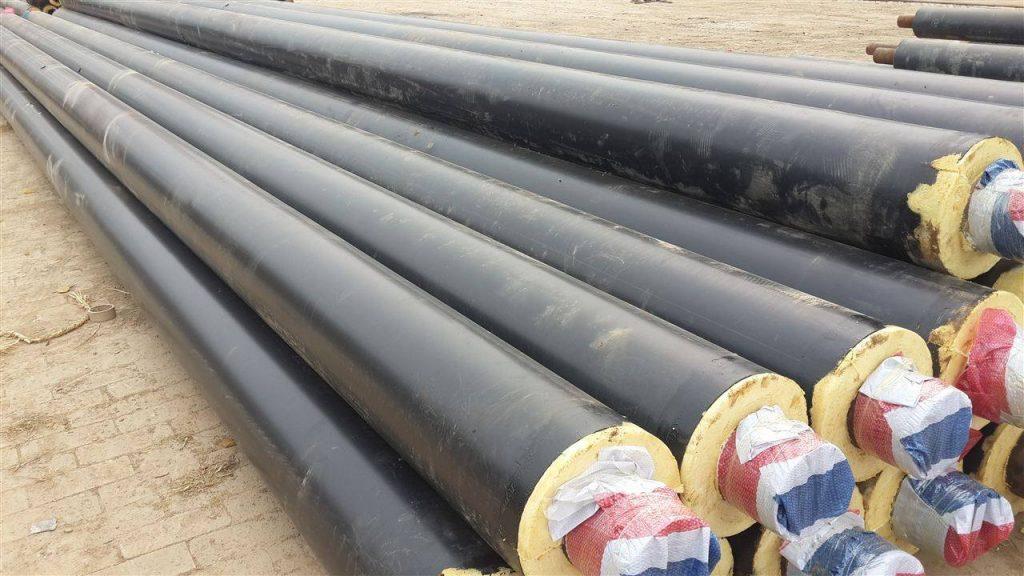 钢套钢预制保温钢管