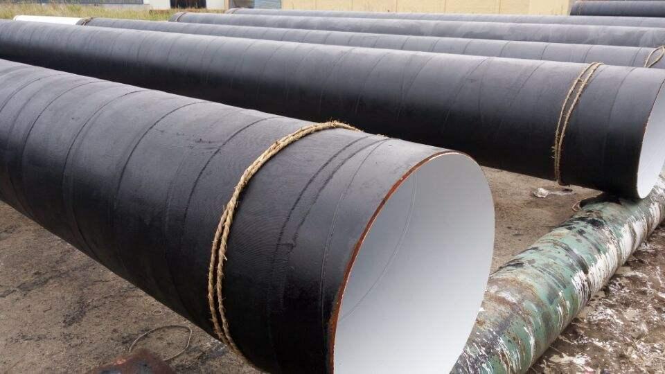 3pe防腐大口径螺旋钢管