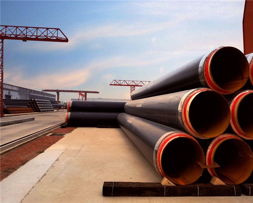 钢套钢聚氨酯保温钢管