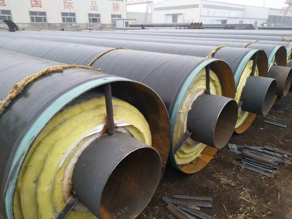 预制直埋聚氨酯地热水保温钢管